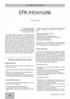 Einheitliche Prüfungsanforderungen Informatik